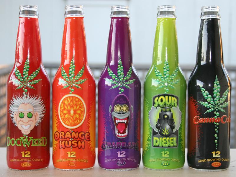 Canna Cola: A Marijuana Soda