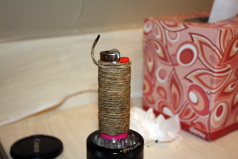 Advantages of Using a Hemp Wick over a Butane Lighter